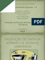 Produção de Enérgia Através de Aterros Sanitários