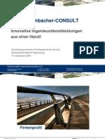 Firmenprofil Steinbacher-Consult, Projektbewerbung