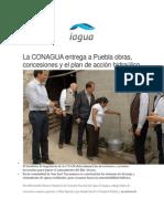 12-02-2015 IAgua,Es - La CONAGUA Entrega a Puebla Obras, Concesiones y El Plan de Acción Hidraúlico