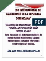 06- TASACIONES DE MAQUINARIAS Y EQUIPOS EN FUNCION DE LA DEPRECIACION SEGUN MEDOTO JANS - JUAN ANGEL NUNEZ SCARPELLINI.pdf