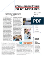 SF Stake Public Affairs February 2015 Newsletter