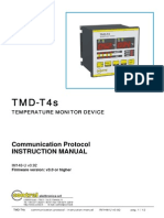 TMD-T4s Communication Protocol IM148-U v0.92