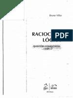 Bruno Villar - Raciocinio Logico Questoes Comentadas CESPE - 2010