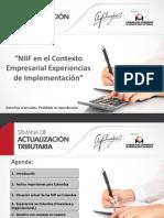 Claudio Diaz Normas NIFF
