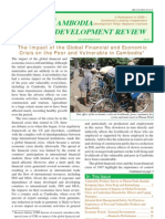 Cambodia Development Review - July-Sept 2009