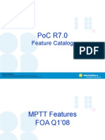 PoC R7 0 Feature Catalog