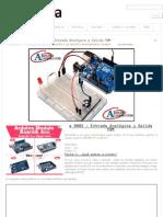 Tutorial Arduino # 0003 - Entrada Analógica y Salida PWM
