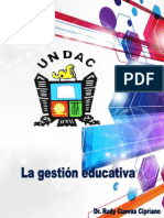 Gestion Educativa Educational Management