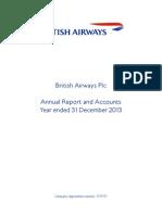 BA Annual Report 2013
