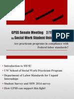 GPSS Slide Presentation