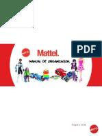 MATTEL.-Manual de Organización.
