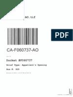 Appellant's Opening F06073