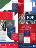 Michael LaFargue mailer #Aldertrack