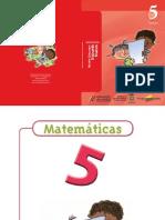 Matemáticas Cartilla 5