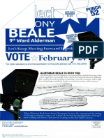Ald. Anthony Beale mailer #Aldertrack