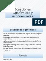 Ecuaciones Logarítmicas y Exponenciales