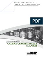 Cerveza, Malta y Licores