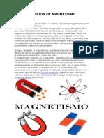 Definicion de Magnetismo