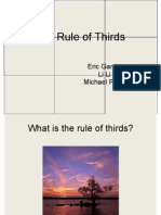 The Rule of Thirds Slides
