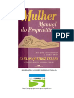 Carlos Queiroz Telles Mulher Manual Do Proprietario