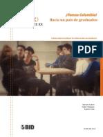 COLOMBIA Hacia Un País de Graduados