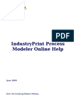 IndustryPrint Process Modeler User Guide