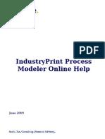 IndustryPrint Process Modeler User Guide