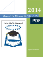 Manual de Usuario Office365