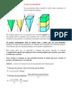 Cálculo Del Volumen de Una Pirámide