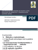 Metodología Juridica Tema 1  Equipo