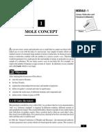 L-1 Mole Concept