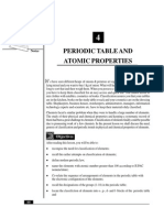 L-4 Periodic Table and Atomic Properties