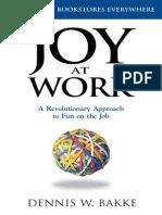 JoyatWork DennisBakke PearPress New