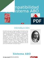 Incompatibilidad Del Sistema ABO Por Yuri Vladimir Villalobos Calero