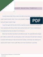 Mysticalgod's Magical Temple