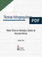 Tecnicas Hidrogeoquimicas
