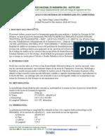 Analisis y Diseño Hidraulico de Drenaje en Careeteras