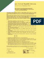 Surat Perjanjian Kerjasama Antara Perpustakaan Nasional RI Dan Rijksuniversiteit Leiden Tentang Katalogisasi Dan Mikrofilmisasi