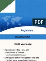 Registries Presentation