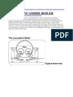 Lancashireboiler Spec