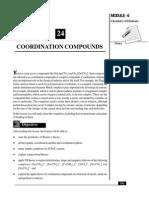 L-24 Cordination and Compunds