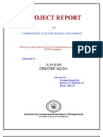 Comperative Study on Mall Mnagment