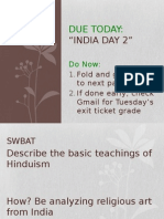 india day 3 ppt