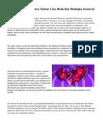 Poemas De Amor Para Salvar Una Relación Biologia General