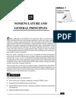 L-25 Nomenclature and General Principles