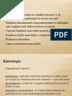 CURS 5 Kinetologie