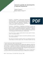 Estrutura Organizacional e Gestão Do Desempenho Nas Universidades Federais Brasileiras