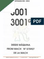 Despiece Motoazada Agria 3001, 3001g