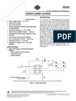 TPS 61042 - CONSTANT CURRENT LED DRIVER