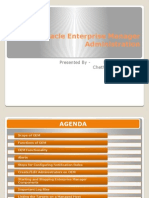 Oracle Enterprise Manager Administration_PPT